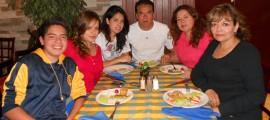 Joaquín Escobedo, René Rojano, Daniela Rojano, Manuel Rojano, Merry Herrera y Liliana Herrera
