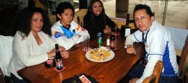 Nora Moreno, Diego Labastida, Maricruz Labastida y Francisco Labastida