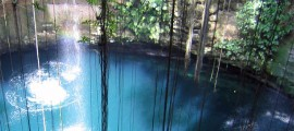 creencia maya de cenotes