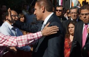 La presencia del gobernador Moreno Valle
