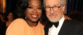Steven Spielberg y Oprah Winfrey