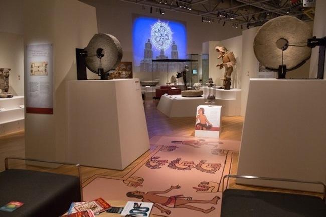 Aztecas museo Australia