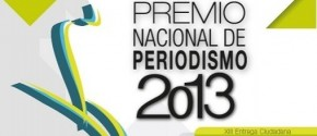 Premio Nacional de Periodismo 2013