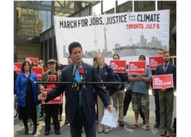 protestas Toronto