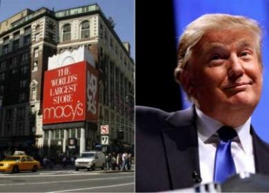 Donal Trump Macy's