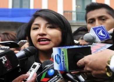 hija del presidente boliviano, Evo Morales, Eva Liz Morales