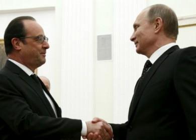 Putin y Hollande